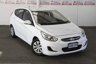 2016 Hyundai Accent RB4 MY16 Active 6 Speed CVT Auto Sequential Hatchback.