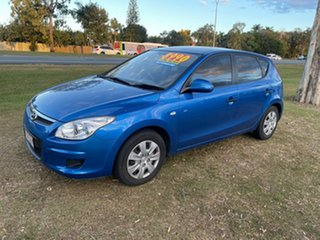 2008 Hyundai i30 FD MY09 SX Blue 4 Speed Automatic Hatchback.