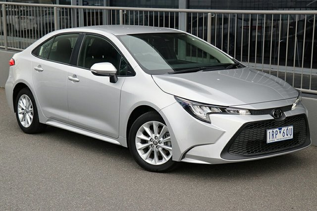 Pre-Owned Toyota Corolla Mzea12R Ascent Sport i-MT Preston, 2020 Toyota Corolla Mzea12R Ascent Sport i-MT Silver 6 Speed Manual Sedan