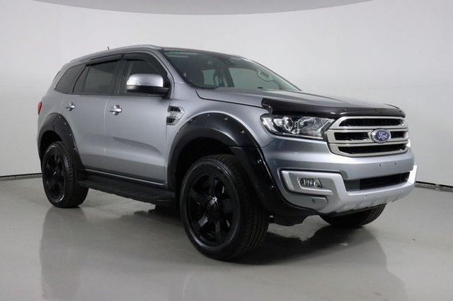 Used Ford Everest UA MY18 Trend (4WD) Bentley, 2018 Ford Everest UA MY18 Trend (4WD) Silver 6 Speed Automatic SUV