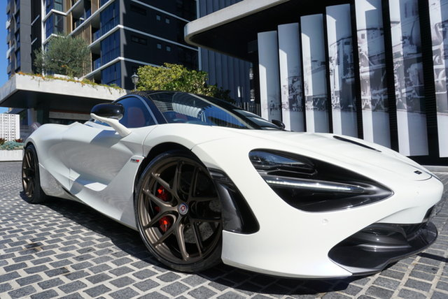 Used McLaren 720S Luxury East Brisbane, 2017 McLaren 720S P14 Luxury White 7 Speed Sports Automatic Dual Clutch Coupe