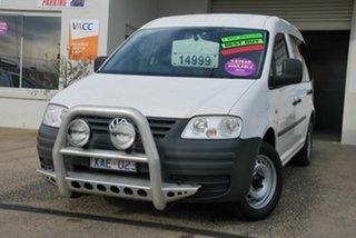2008 Volkswagen Caddy 2K MY09 Maxi White 5 Speed Manual Van.