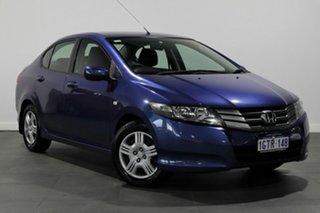 2010 Honda City GM MY10 VTi Blue 5 Speed Manual Sedan.