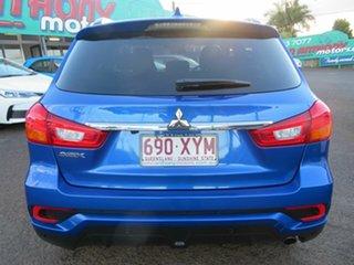 2018 Mitsubishi ASX XC MY18 LS 2WD ADAS Blue 1 Speed Constant Variable Wagon