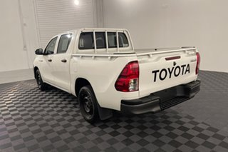 2015 Toyota Hilux TGN121R Workmate Double Cab 4x2 Glacier 6 speed Automatic Utility