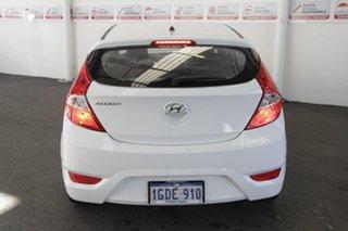 2016 Hyundai Accent RB4 MY16 Active 6 Speed CVT Auto Sequential Hatchback