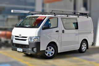 2016 Toyota HiAce TRH201R LWB White 6 Speed Automatic Van.