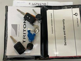 2017 Mitsubishi Triton MQ MY17 GLX+ Double Cab Grey 6 Speed Manual Utility.