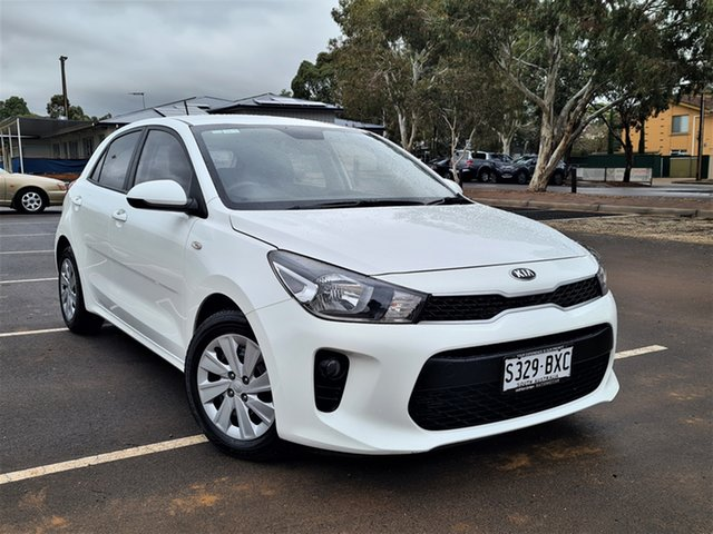 Used Kia Rio YB MY18 S St Marys, 2018 Kia Rio YB MY18 S White 4 Speed Sports Automatic Hatchback