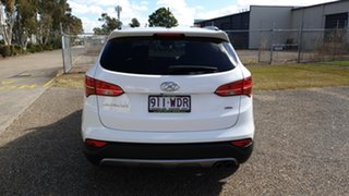 2015 Hyundai Santa Fe DM MY15 Elite CRDi (4x4) White 6 Speed Automatic Wagon