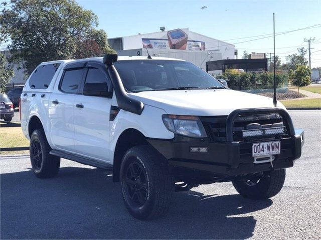 Used Ford Ranger PX XL Archerfield, 2012 Ford Ranger PX XL White 6 Speed Sports Automatic Cab Chassis