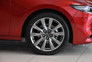 2021 Mazda 3 BP2SLA G25 SKYACTIV-Drive Astina Red 6 Speed Sports Automatic Sedan