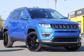 2018 Jeep Compass M6 MY18 Limited Hydro Blue 9 Speed Automatic Wagon.