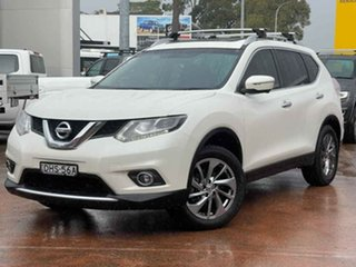 2016 Nissan X-Trail T32 TL (FWD) White Continuous Variable Wagon.