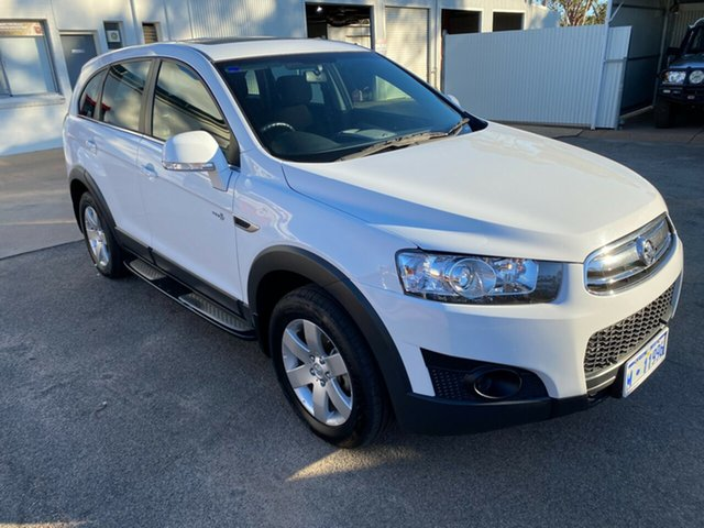 Pre-Owned Holden Captiva CG MY17 LS 2WD Moora, 2016 Holden Captiva CG MY17 LS 2WD Olympic White 6 Speed Sports Automatic Wagon