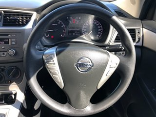 2014 Nissan Pulsar B17 ST Maroon 1 Speed Constant Variable Sedan
