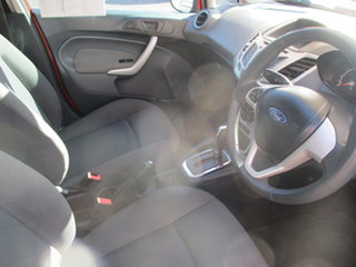 2012 Ford Fiesta WT CL Red 6 Speed Automatic Hatchback