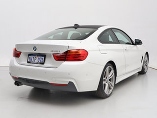 2016 BMW 430i F32 MY16.5 M Sport White 8 Speed Automatic Coupe