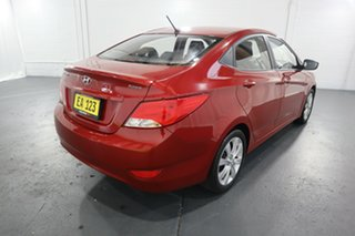 2017 Hyundai Accent RB6 MY18 Sport Red 6 Speed Sports Automatic Sedan