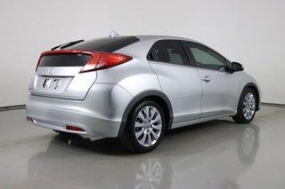 2013 Honda Civic FK MY13 VTi-L Silver 5 Speed Automatic Hatchback
