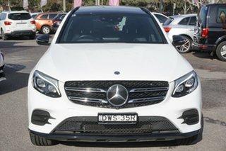 2018 Mercedes-Benz GLC-Class X253 808MY GLC350 d 9G-Tronic 4MATIC White 9 Speed Sports Automatic.