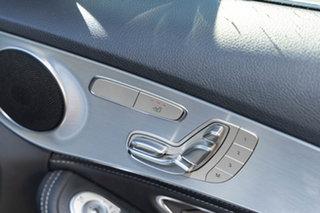 2014 Mercedes-Benz C-Class W205 C200 BlueTEC 7G-Tronic + Diamond Silver 7 Speed Sports Automatic