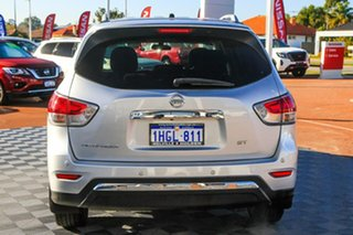 2014 Nissan Pathfinder R52 MY14 ST X-tronic 2WD Silver 1 Speed Constant Variable Wagon