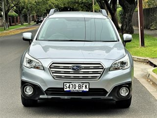 2015 Subaru Outback B6A MY15 2.0D CVT AWD Silver 7 Speed Constant Variable Wagon.