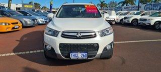 2013 Holden Captiva CG MY13 7 AWD LX Pearl White 6 Speed Sports Automatic Wagon.