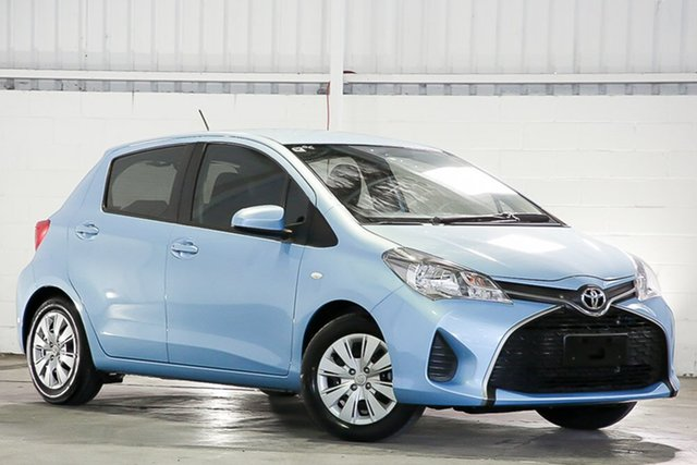 Used Toyota Yaris NCP130R Ascent West Gosford, 2016 Toyota Yaris NCP130R Ascent Blue 4 Speed Automatic Hatchback
