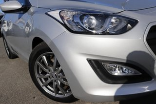 2015 Hyundai i30 GD3 Series II MY16 Active Platinum Silver 6 Speed Sports Automatic Hatchback.