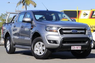 2016 Ford Ranger PX MkII XLS Double Cab Meteor Grey 6 Speed Sports Automatic Utility.