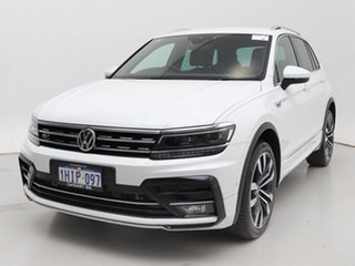 2020 Volkswagen Tiguan 5NA MY20 162 TSI Highline White 7 Speed Auto Direct Shift Wagon.