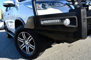 2015 Toyota Fortuner GUN156R GXL White 6 Speed Automatic Wagon.