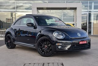 2014 Volkswagen Beetle 1L MY14 Coupe DSG Deep Black Pearl 7 Speed Sports Automatic Dual Clutch.