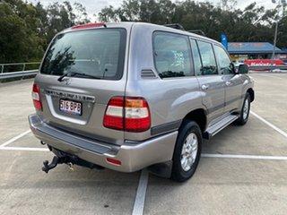2007 Toyota Landcruiser UZJ100R Upgrade II GXL (4x4) Silver 5 Speed Automatic Wagon.