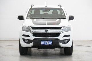 2016 Holden Colorado RG MY16 Z71 Crew Cab White 6 Speed Sports Automatic Utility.