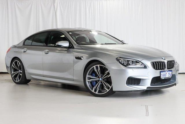Used BMW M6 F06M Gran Coupe M-DCT Wangara, 2013 BMW M6 F06M Gran Coupe M-DCT Silver 7 Speed Sports Automatic Dual Clutch Sedan