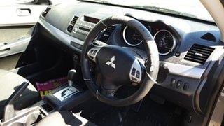2010 Mitsubishi Lancer CJ MY11 SX Grey 6 Speed CVT Auto Sequential Sedan
