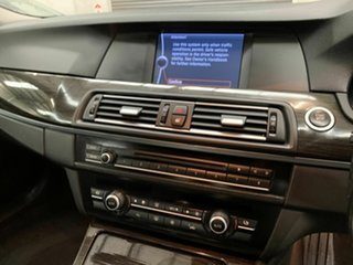 2010 BMW 5 Series F10 535i Steptronic Silver 8 Speed Sports Automatic Sedan
