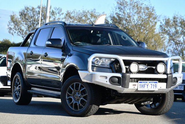 Used Ford Ranger PX MkII FX4 Double Cab Clarkson, 2017 Ford Ranger PX MkII FX4 Double Cab Grey 6 Speed Sports Automatic Utility