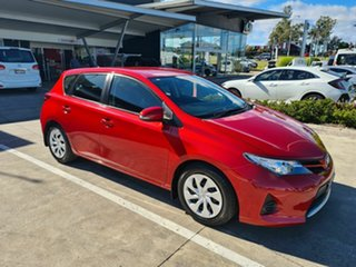 2013 Toyota Corolla ZRE182R Ascent S-CVT Red 7 Speed Constant Variable Hatchback.