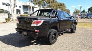 2012 Mazda BT-50 XT Hi-Rider (4x2) Black 6 Speed Automatic Dual Cab Utility.