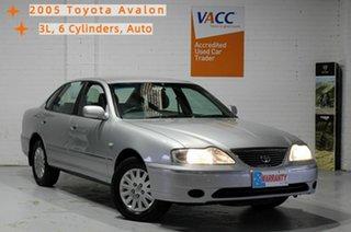 2005 Toyota Avalon MCX10R Mark III GXi Silver 4 Speed Automatic Sedan.