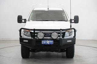 2014 Ford Ranger PX XLS Double Cab White 6 Speed Sports Automatic Utility.