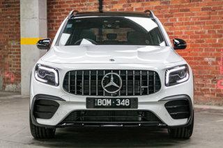 2021 Mercedes-Benz GLB-Class X247 801MY GLB35 AMG SPEEDSHIFT DCT 4MATIC Digital White 8 Speed.