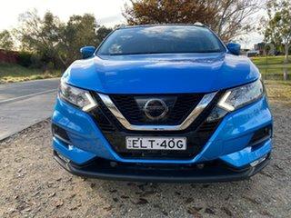 2017 Nissan Qashqai J11 Series 2 ST-L X-tronic Blue 1 Speed Constant Variable Wagon.
