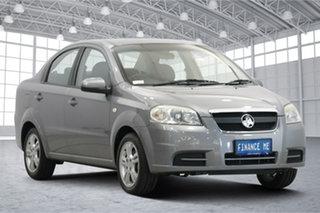 2011 Holden Barina TK MY11 Urban Grey 4 Speed Automatic Sedan.