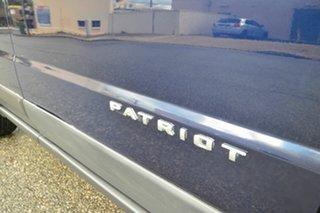 2014 Jeep Patriot MK MY14 Sport (4x2) Blue 5 Speed Manual Wagon