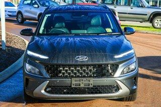 2021 Hyundai Kona Os.v4 MY21 Highlander 2WD Dark Knight & Phantom Black Roof 8 Speed.